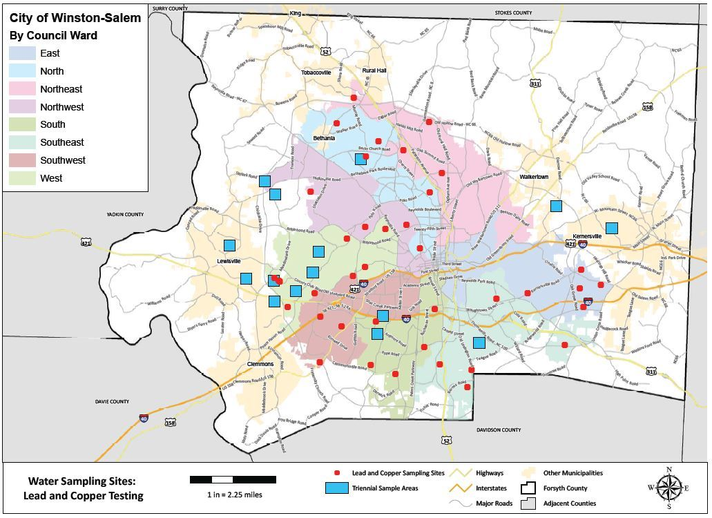 Water Sampling Sites Lead and Copper Testing Map (JPG) Opens in new window